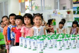 2 năm thực hiện đề án, Đà Nẵng có gần 41.000 trẻ em thụ hưởng chương trình sữa học đường