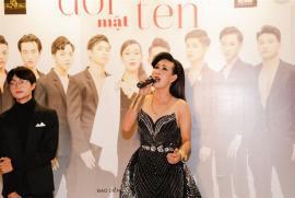 Rất đông nghệ sĩ tới chia vui cùng Hà Kiều Anh tại buổi ra mắt webdrama Đổi mặt thay tên