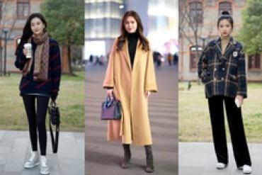 Street style Châu Á: Hội chị em bất chấp thời tiết rét buốt vẫn ăn diện lồng lộn chẳng thiếu màu sắc nào