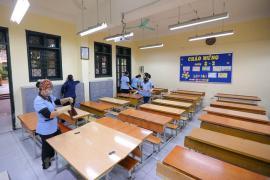 Địa phương không có dịch virus corona, có thể cho học sinh đi học sau khử trùng