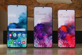 Samsung 'trình làng' bộ 3 Galaxy S20, camera zoom 100X, quay video 8K
