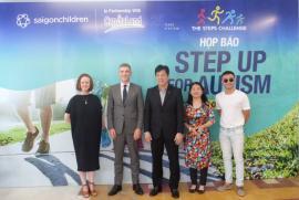 The Steps Challenge: Bước đi cùng cộng đồng tự kỷ tại Việt Nam