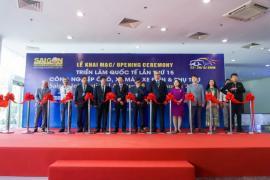 Chính thức khai mạc Triển lãm Quốc tế lần thứ 15 Saigon Autotech & Accessories 2019