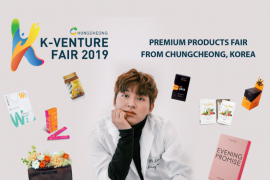 Triển lãm Sản phẩm Cao cấp Tỉnh Chungcheong, Hàn Quốc - K Venture fair 2019