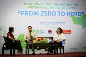 """Hội thảo """"From Zero to Hero"""" đã thu hút sự tham dự của gần 400 sinh viên/startup tại TP.HCM"""