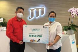 Quỹ JTI Foundation ủng hộ gần 1.2 tỉ đồng phòng chống dịch COVID-19 tại Việt Nam