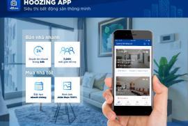 Ứng dụng Hoozing - Siêu thị bất động sản thông minh