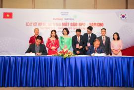 Mắt Bão BPO ký kết hợp tác đầu tư với Samkoo – Hàn Quốc