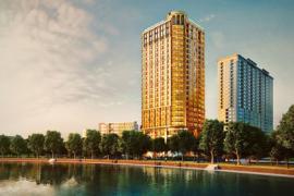Hơn 150 triệu một mét vuông căn hộ khách sạn dát vàng trên phố Giảng Võ