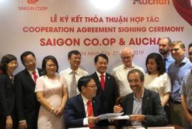 Saigon Co.op nhận tiếp quản Auchan tại Việt Nam