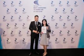 IPPG và Công ty DAFC  vinh dự nhận giải HR Asia 2019