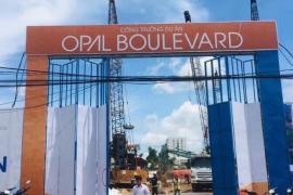 Mập mờ thông tin về dự án Opal Boulevard do Đất Xanh Group là đơn vị phát triển