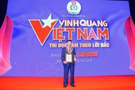 """Chủ tịch IPPG được vinh danh tại Giải thưởng """"Vinh Quang Việt Nam"""""""