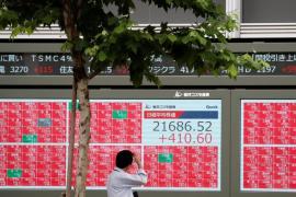 Nhiều thị trường chứng khoán châu Á tăng hơn 1%, kỳ vọng Fed nới lỏng nhiều hơn