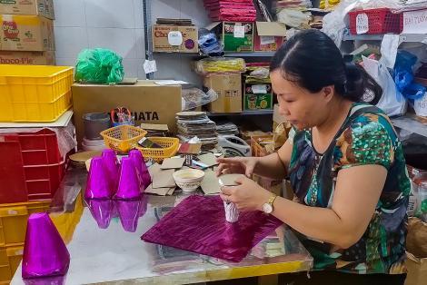 Cận cảnh các công đoạn làm ra thương hiệu oản nổi tiếng tại Hà Nội