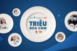 """Suntory PepsiCo Việt Nam chính thức tái khởi động chiến dịch """"Triệu bữa cơm"""", lan toả sức mạnh cộng đồng vượt qua đại dịch"""