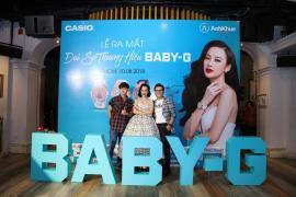 Nhà phân phối và bảo hành chính thức đồng hồ Casio ra mắt Đại sứ thương hiệu Baby-G tại Việt Nam