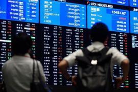 Chứng khoán châu Á tăng nhờ Trung Quốc hạ lãi suất