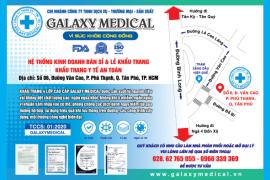 Khẩu trang Y tế cao cấp Galaxy Medical mở chi nhánh thứ 2 tại TP.HCM