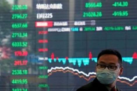 Chứng khoán châu Á tăng, nối gót Phố Wall