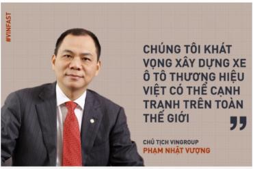 VCSC: Vingroup bán 3% cổ phần Vinhomes để đầu tư vào VinFast