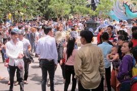 Hàng chục nghìn người đến với Suối Tiên trong dịp Lễ Quốc khánh 2/9 năm nay