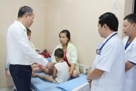 Phú Thọ: 80 trẻ mầm non nhập viện nghi ngộ độc thực phẩm