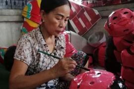 Làng nghề truyền thống, đồ chơi Trung thu được hồi sinh