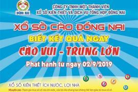 Xổ số Đồng Nai: Tung vé cào trúng độc đắc 100 triệu đồng