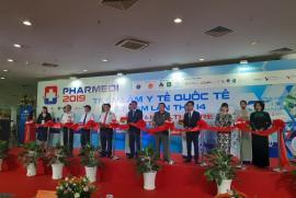 Khai mạc Triển lãm Y tế Quốc tế Việt Nam 2019 tại TP.HCM