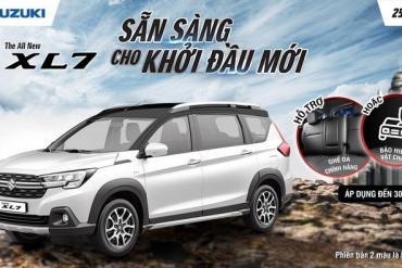 Suzuki XL7 hoàn toàn mới - SUV tiện nghi cho cá nhân và cả gia đình