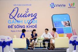 """VieVie đồng hành cùng diễn đàn Webtretho tổ chức ngày hội """"Quẳng gánh lo đi để sống khỏe"""""""