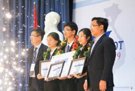 Đội KPT Warriors khoa Luật trường ĐH QG Hà Nội đạt giải quán quân Cuộc thi VMOOT cấp Quốc gia 2019