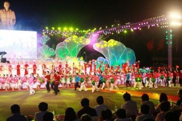 Phong phú nhiều hoạt động Lễ hội Làng Sen năm 2020