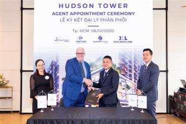 City Garden Thủ Thiêm ký kết hợp tác với 4 nhà phân phối chính thức cho Hudson Tower thuộc dự án The River