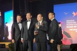"""MDIS vinh dự đón nhận giải thưởng """"Thương hiệu uy tín Singapore"""" năm 2018 và """"Thương hiệu di sản 2018"""""""