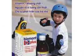 Khám phá BIOMONT PLUS – Giải pháp cho trẻ biếng ăn, chậm lớn