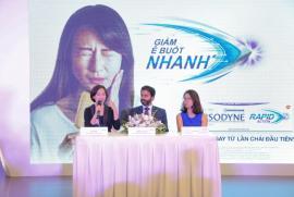 Ra mắt sản phẩm giảm nhanh ê buốt răng Sensodyne Rapid Action tại Việt Nam