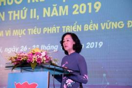 Khai mạc diễn đàn Trí thức trẻ Việt Nam toàn cầu lần thứ II, năm 2019