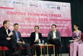 Khởi động cuộc thi khởi nghiệp Hult Prize khu vực Đông Nam Á 2019 – 2020