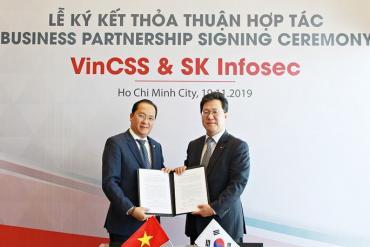 Vingroup bắt tay SK Group, 'tham chiến' thị trường dịch vụ an ninh mạng