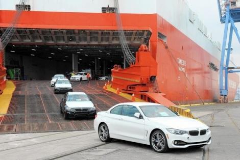 Hơn 5.300 ô tô các loại nhập khẩu về Việt Nam nửa tháng 11/2019