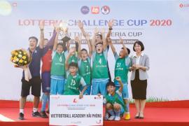 """Mùa giải """"Thách thức Lotteria Cup 2020"""" đến với thiếu nhi Hải Phòng"""