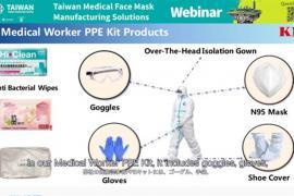 Giải pháp sản xuất khẩu trang y tế Đài Loan trong thời điểm dịch bệnh Covid-19