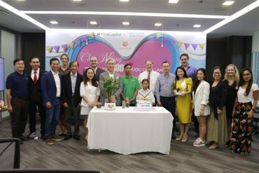 VinaCapital Foundation chữa lành cho 8.000 em nhỏ mắc bệnh tim bẩm sinh
