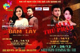 """Nhà hát Tuổi Trẻ lưu diễn tại TPHCM với chương trình """"Lưu Quang Vũ, Còn mãi một tình yêu"""""""