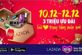 Lazada sale đậm với hơn 3 triệu ưu đãi trong 3 ngày 10-12/12