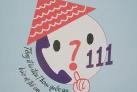 Cần phải quảng bá rộng rãi hơn nữa Tổng đài điện thoại quốc gia bảo vệ trẻ em - 111