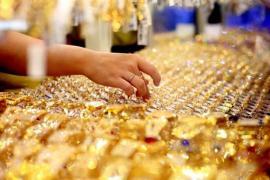 Giá vàng biến động ở phạm vi hẹp