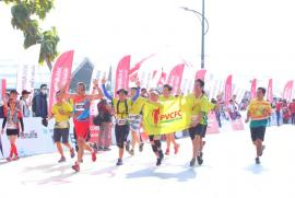 GEOFFREY BIRGEN & IMMACULATE CHEMUTAI đăng quang ngôi vị vô địch Giải Marathon Quốc Tế TP.HCM Techcombank 2019